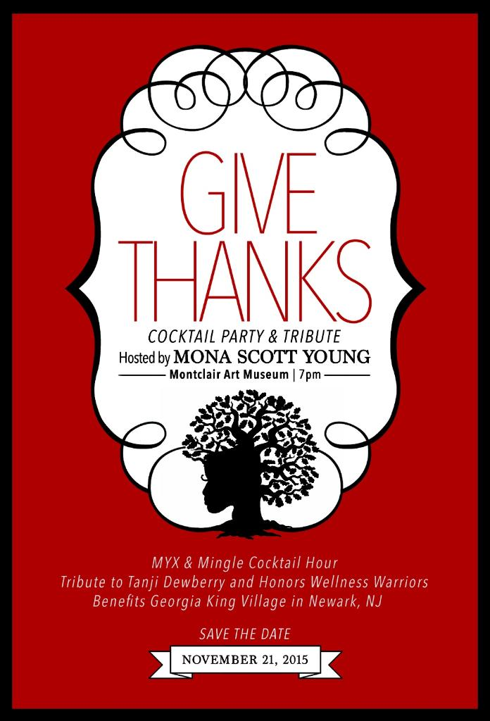 Give Thanks Invitation