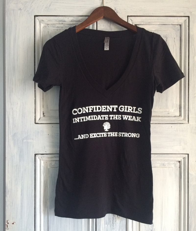 Confidence-Girls-Tee