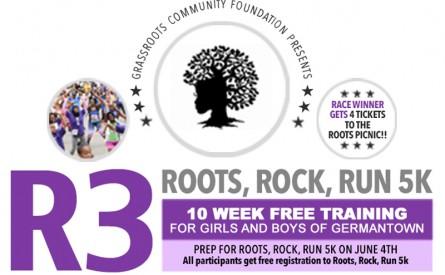 ROOTS, ROCK, RUN 5k Free Training