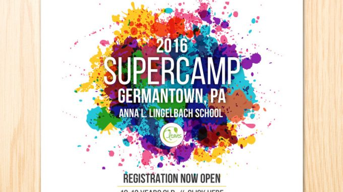 2016 SuperCamp Registration For Leaves SuperGirls At Lingelbach School In Germantown, PA