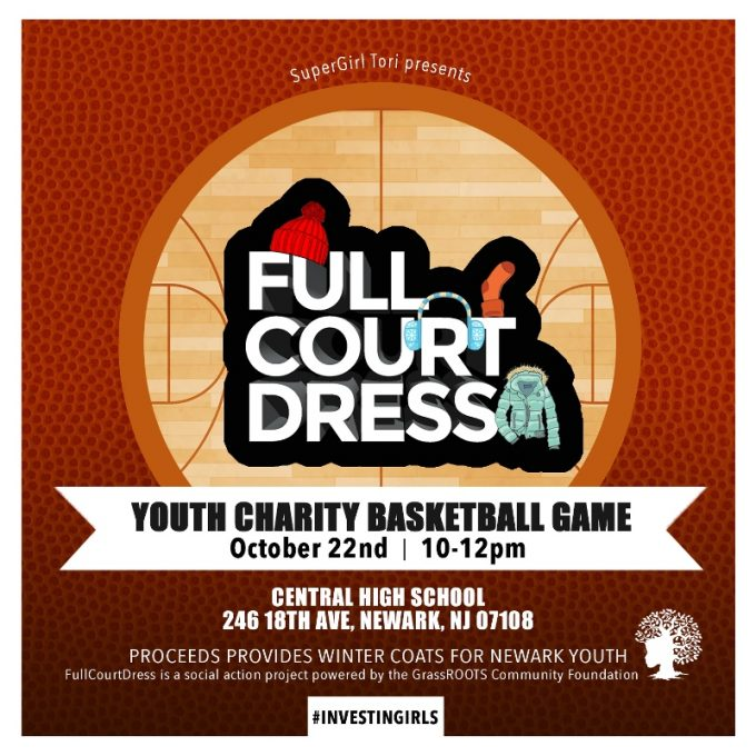 Full Court Dress Youth Charity Basketball Game