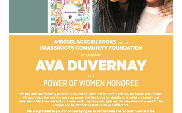 Power Of Women Honoree Ava Duvernay