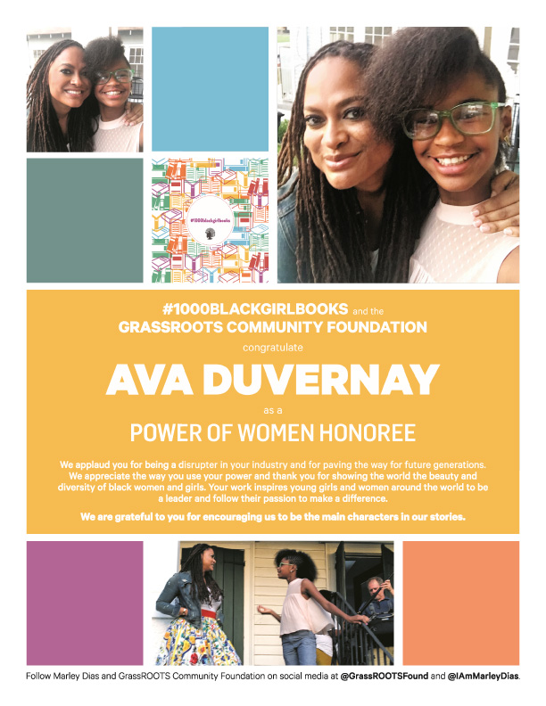 Power Of Women Honoree Ava Duvernay
