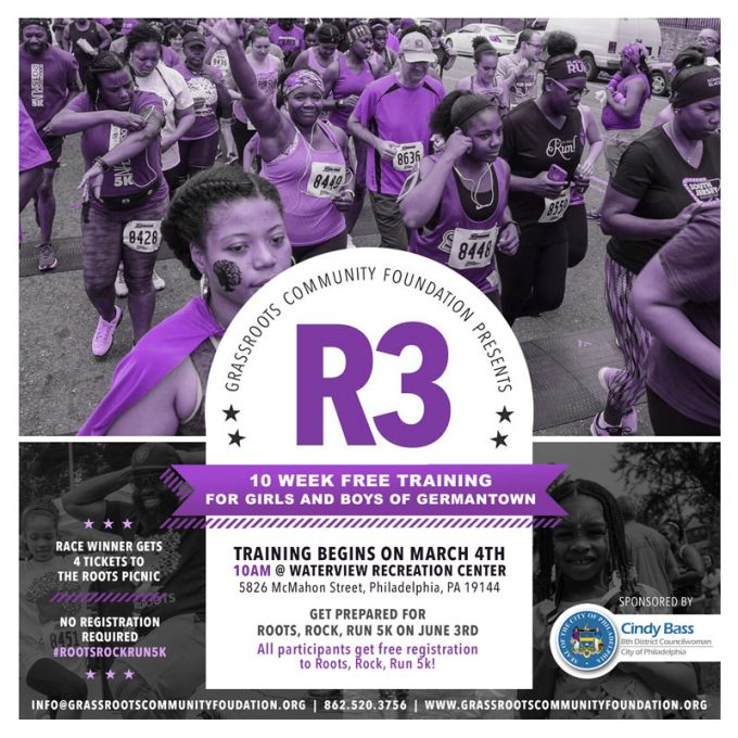 5th Annual Roots, Rock, Run Community 5K – Free Race Training Program