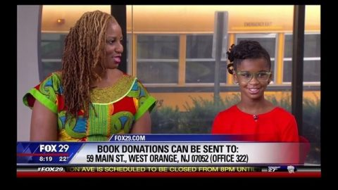 NJ 11-Year-Old Launches #1000BlackGirlBooks: Fox29
