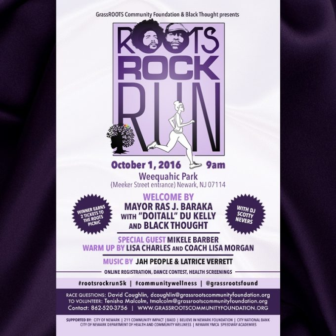 Get Ready For Roots, Rock, Run 5K