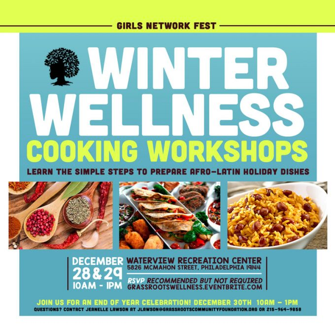 Winter Wellness Cooking Workshops