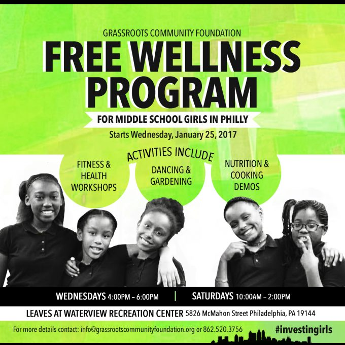 Free Wellness Program For Middle School Girls