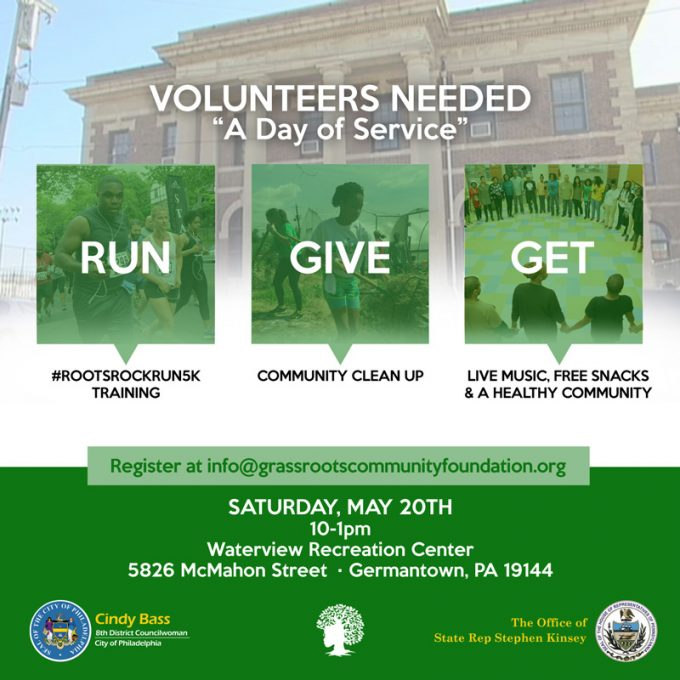Volunteers Needed For Day Of Service