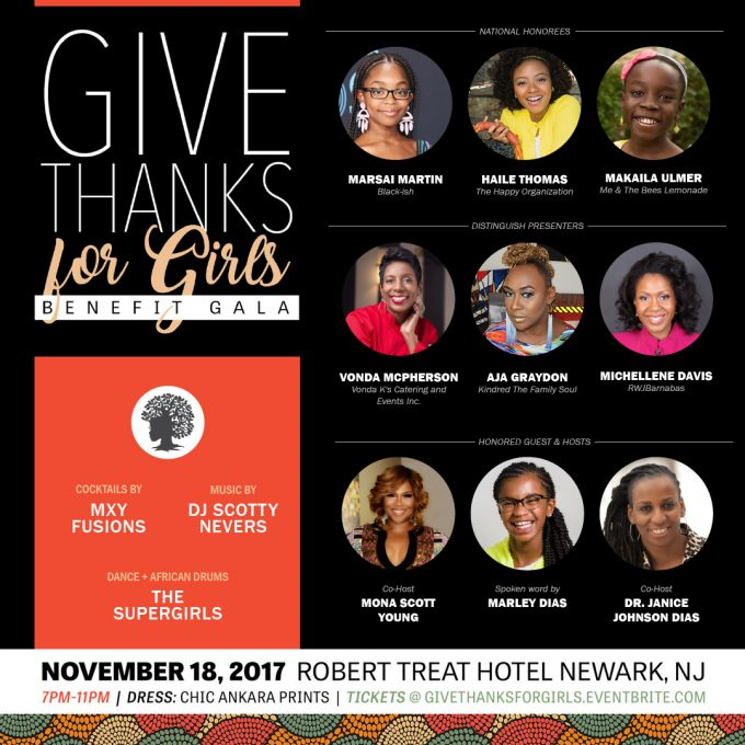 Give Thanks For Girls Benefit Gala