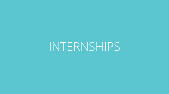 College And Graduate Student Training And Internships
