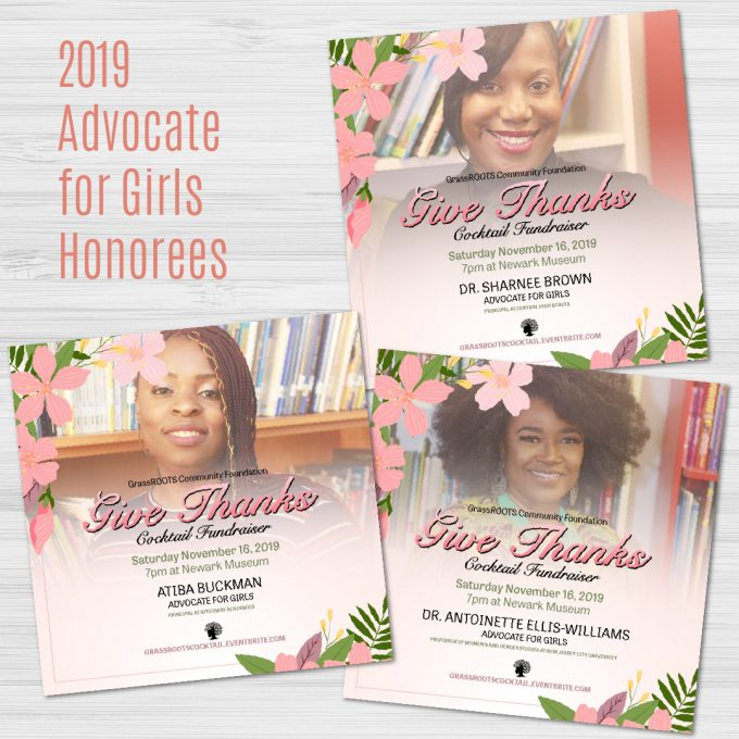 Advocate For Girls Honorees 2019