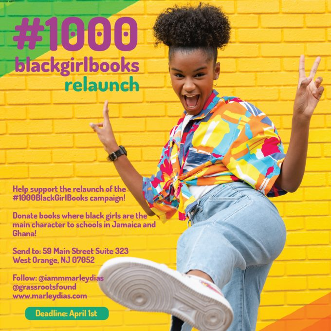 #1000blackgirlbooks Relaunch