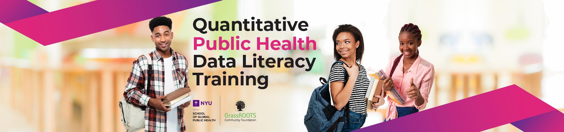 Data literacy training slide