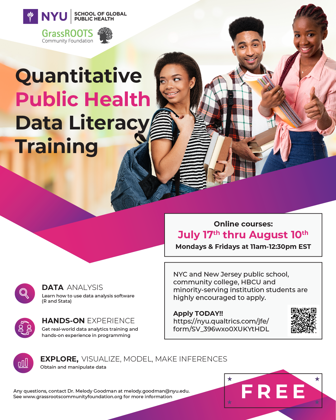 Data literacy training