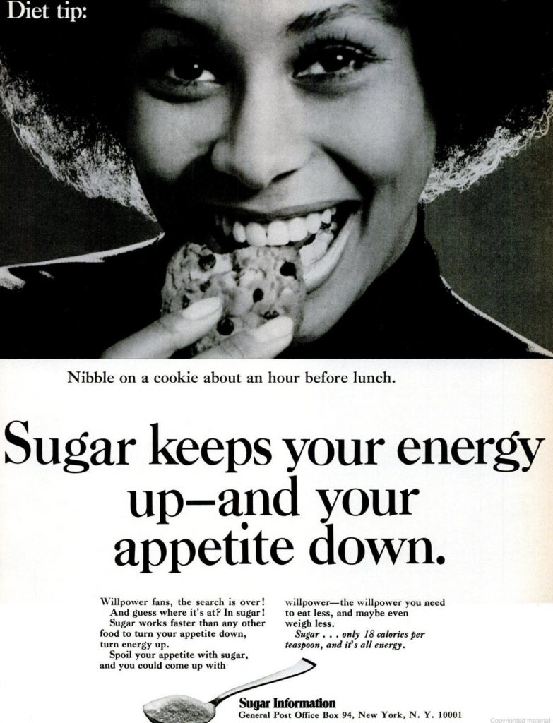 Sugar info ad